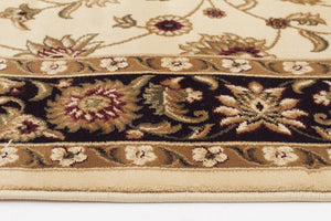 Sydney Classic Rug Ivory with Black Border - aladdinrugs - 3