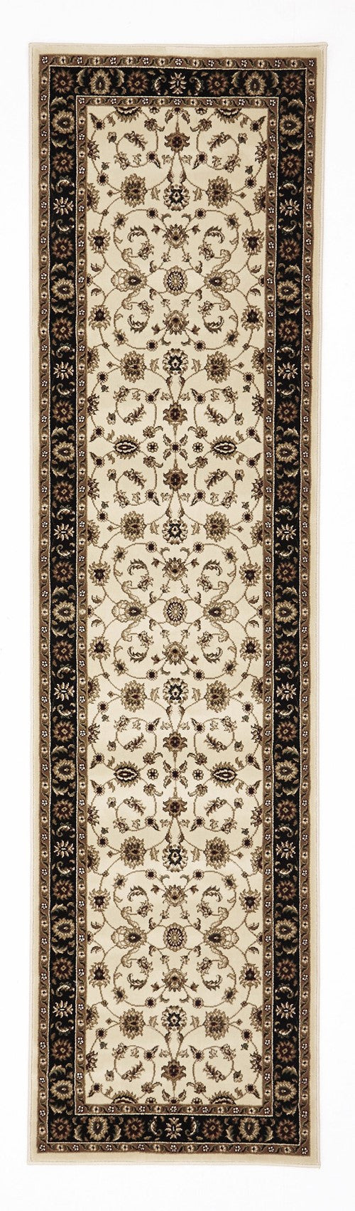 Sydney Classic Rug Ivory with Black Border - aladdinrugs - 6