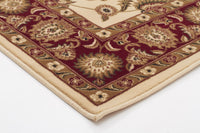 Sydney Classic Rug Ivory with Red Border - aladdinrugs - 2