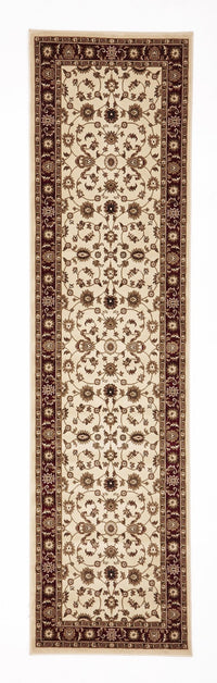 Sydney Classic Rug Ivory with Red Border - aladdinrugs - 6