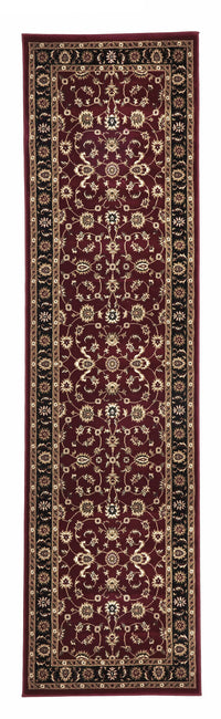 Sydney Classic Rug Red with Black Border - aladdinrugs - 6