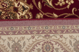 Sydney Classic Rug Red with Ivory Border - aladdinrugs - 5