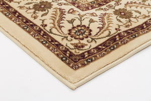 Sydney Medallion Rug Ivory with Ivory Border - aladdinrugs - 2