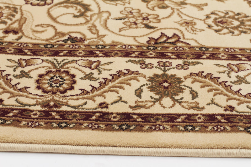 Sydney Medallion Rug Ivory with Ivory Border - aladdinrugs - 3