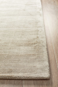 Luxe Modern Distressed Rug Latte
