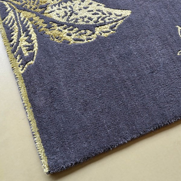 Tonquin gold rugs 37005 by wedgwood