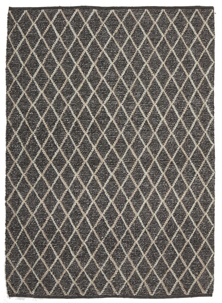 Rug Culture Urban Collection 7502 Charcoal Rug - aladdinrugs - 1