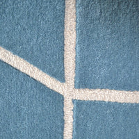 Scion Viso Rugs 24008 Denim