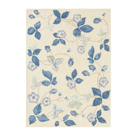 Wild Strawberry Rugs 38108 in Cream by Wedgwood