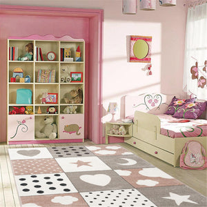 Smartkidz Patchwork Shapes Pink