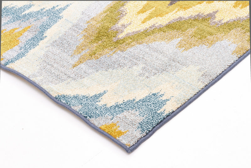 Rug Culture Kaleidoscope 103 Blue - aladdinrugs - 2