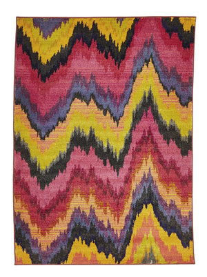 Rug Culture Kaleidoscope 103 Pink - aladdinrugs - 1