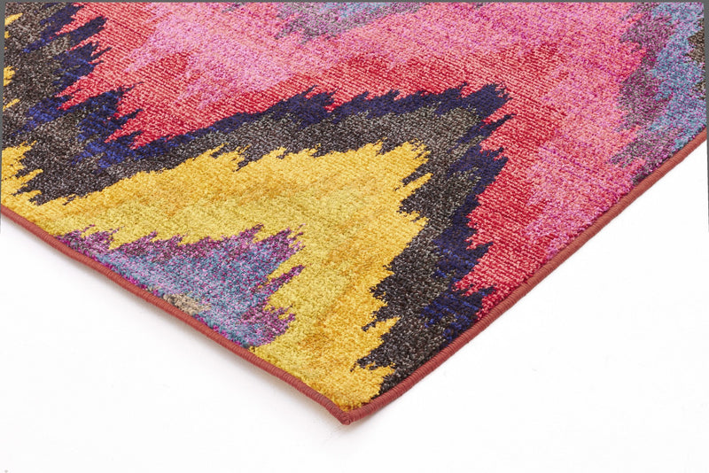 Rug Culture Kaleidoscope 103 Pink - aladdinrugs - 2
