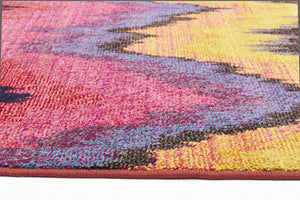 Rug Culture Kaleidoscope 103 Pink - aladdinrugs - 3