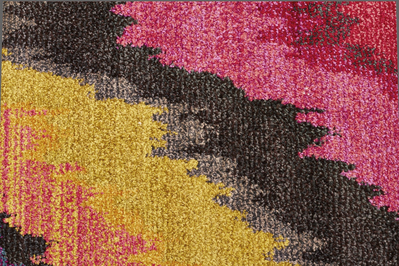 Rug Culture Kaleidoscope 103 Pink - aladdinrugs - 4