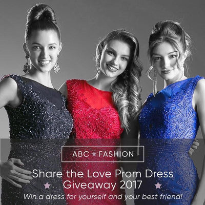 Share the Love Prom Dress Giveaway 2017 Winners