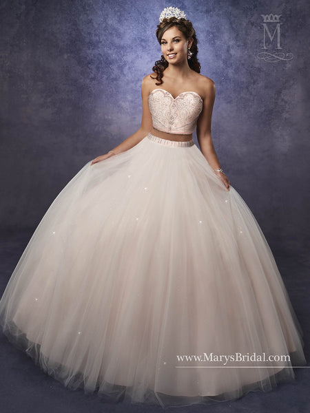 Mary's Bridal Princess Collection Quinceanera Dress Style 4Q475