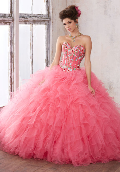 Mori Lee Quinceanera Dress Style 89121