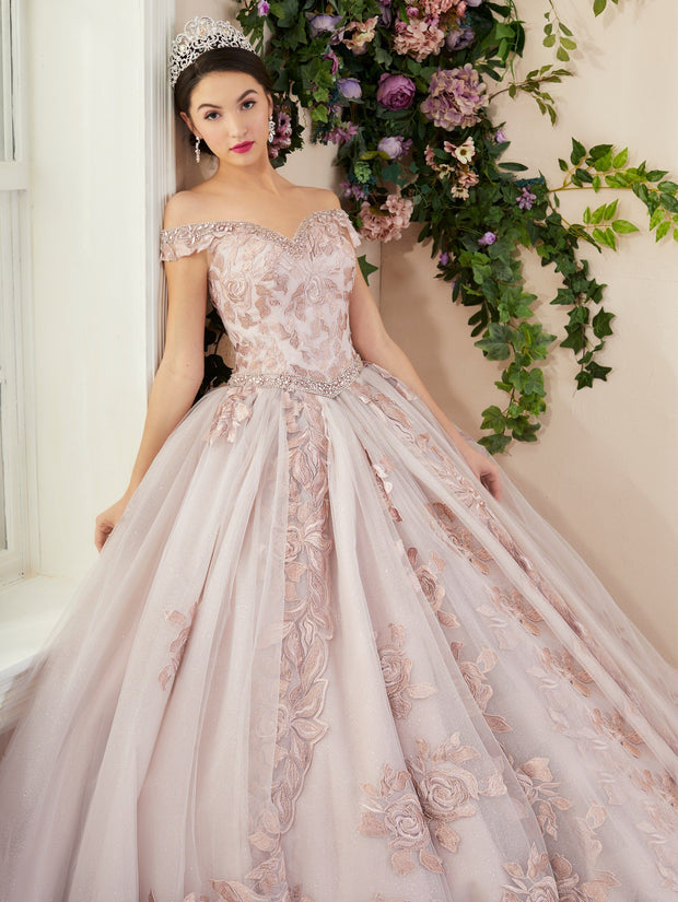 3 Piece Off Shoulder Quinceanera Dress by House of Wu 26964