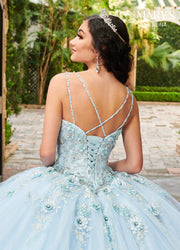 3D Floral Quinceanera Dress by Mary's Bridal MQ2124