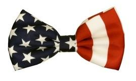 American Flag Patriotic Bow Ties-Men's Bow Ties-ABC Fashion