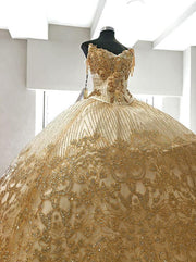 2-Piece V-Neck Quinceanera Dress by Ragazza D20-520