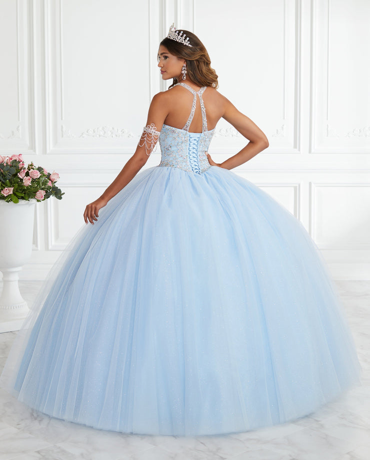 Beaded Halter Quinceanera Dress by Fiesta Gowns 56394-Quinceanera Dresses-ABC Fashion