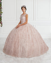 Beaded Illusion Quinceanera Dress by House of Wu 26942-Quinceanera Dresses-ABC Fashion