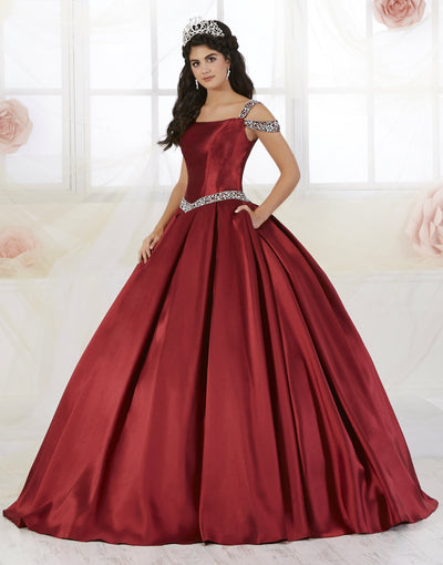 Beaded Off the Shoulder Quinceanera Dress by Fiesta Gowns 56350-Quinceanera Dresses-ABC Fashion