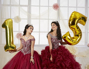 Beaded Off the Shoulder Quinceanera Dress by House of Wu 26899-Quinceanera Dresses-ABC Fashion