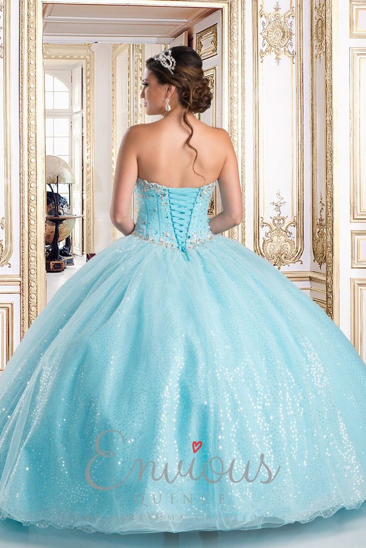 Beaded Strapless Quinceanera Dress by Camila Q Q15271-Quinceanera Dresses-ABC Fashion