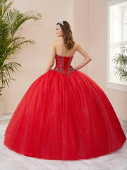 Beaded Strapless Quinceanera Dress by Fiesta Gowns 56403 (Size 10 - 16)