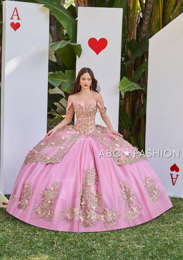 Blush Pink Quinceanera Dress by Ragazza DV55-555