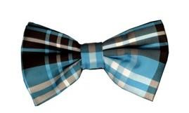 Burgundy/Black Plaid Bow Ties with Matching Pocket Squares-Men's Bow Ties-ABC Fashion