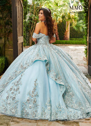 Cape Quinceanera Dress by Alta Couture MQ3061