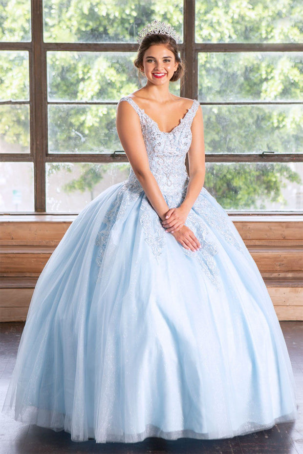 Embellished Sleeveless Quinceanera Dress by Calla KY79781X-Quinceanera Dresses-ABC Fashion