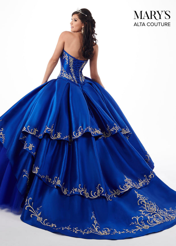 Embroidered Charro Two-Piece Quinceanera Dress by Alta Couture MQ3020-Quinceanera Dresses-ABC Fashion