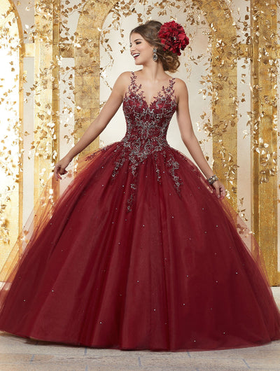 Embroidered Quinceanera Dress by Mori Lee Vizcaya 89223-Quinceanera Dresses-ABC Fashion