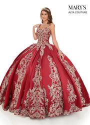 Embroidered Sleeveless Quinceanera Dress by Alta Couture MQ3050-Quinceanera Dresses-ABC Fashion