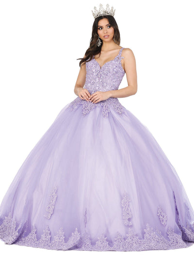 Embroidered Sweetheart Ball Gown by Dancing Queen 1411