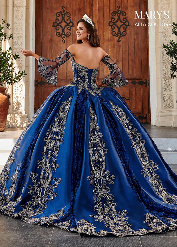 Embroidered Sweetheart Quinceanera Dress by Alta Couture MQ3044-Quinceanera Dresses-ABC Fashion