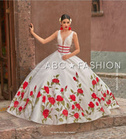 Floral Charro Quince Dress by Ragazza MV19-119