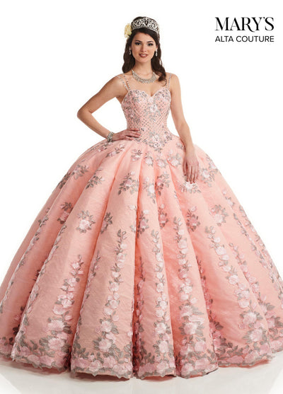 Floral Embroidered Quinceanera Dress by Alta Couture MQ3035-Quinceanera Dresses-ABC Fashion