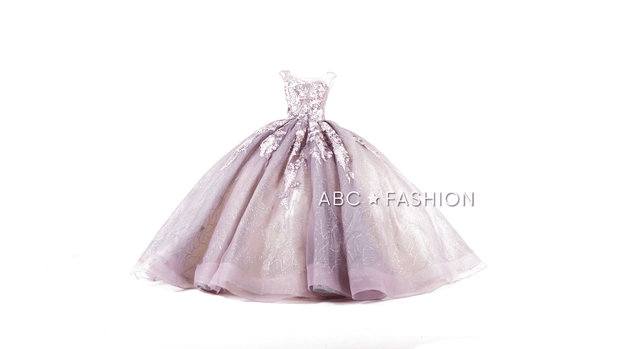 Mauve Quinceanera Dress by Ragazza DV57-557