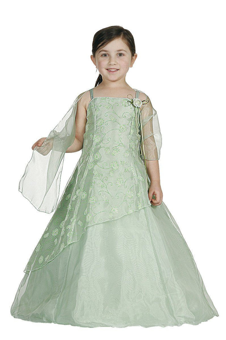 Flower Girl Dresses with Floral Embroidery - 6 Colors-Girls Formal Dresses-ABC Fashion