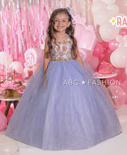 Girls Beaded Glitter Ball Gown by Ragazza Kids N13-713