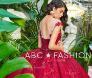 Glitter Cap Sleeve Quinceanera Dress by Ragazza Fashion DV22-522-Quinceanera Dresses-ABC Fashion