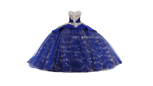 Glitter Quinceanera Dress by Ragazza DV47-547