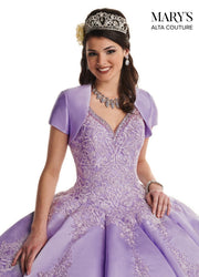 Lace Applique V-Neck Quinceanera Dress by Alta Couture MQ3032-Quinceanera Dresses-ABC Fashion