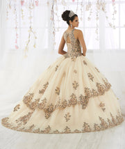 Lace Embroidered Illusion Quinceanera Dress by House of Wu 26912-Quinceanera Dresses-ABC Fashion